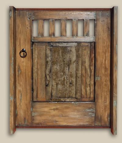 Antique Mexican Doors Become SoCal Gates - Antique Mexican Doors Archives - La Puerta Originals