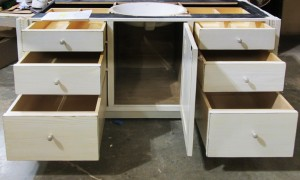 9885-03 Cabinet w Drawers