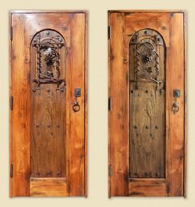 10092-01 Wine Cellar Door