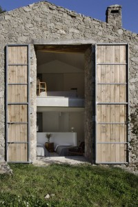 Two story doors