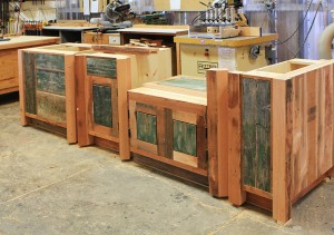 9945-03 Cabinets in shop