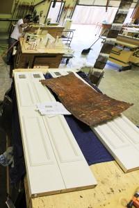 9978-09 Door in shop