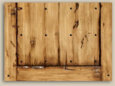 10490-01 Custom Gate Detail Back