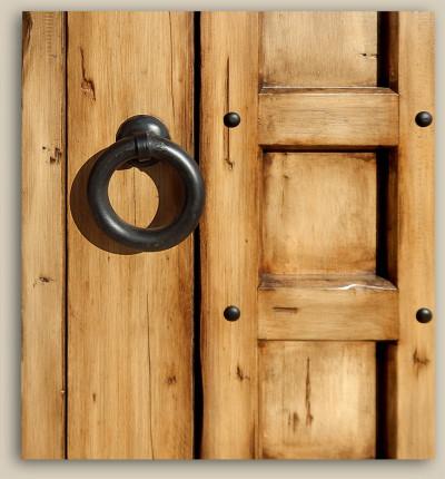 10490-01 Custom Gate Iron Pull Ring