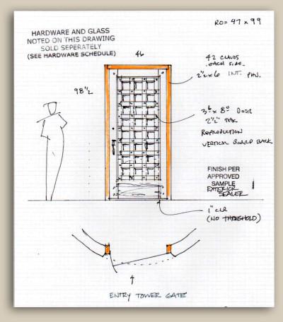 10490 Drawing for Custom Gate